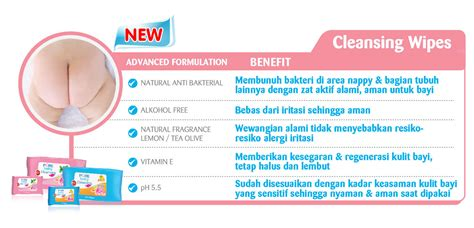 Baby Cleansing Wipes Lemon Isi 60 jual murah baby cleansing wipes tea olive 20 s buy 1
