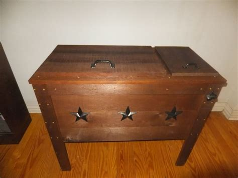 Handmade Coolers - handmade rustic wood cooler chest 90qt by thh