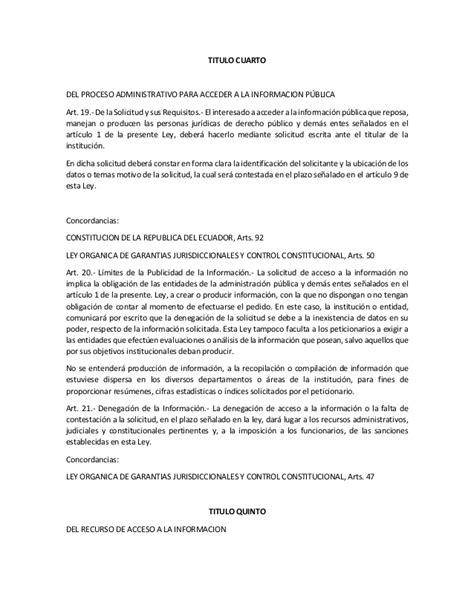 formato de solicitud de informacion publica ley org 225 nica de transparencia y acceso a la informacion