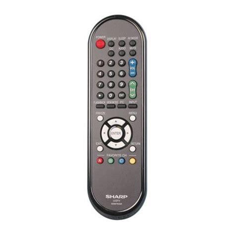 Remote Tv Sharp sharp remote rrmcga667wjsa
