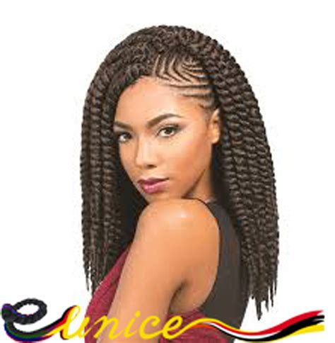 using differentcolored extensions for senegalesetwist african hairstyles crochet senegalese twists 14 quot 16