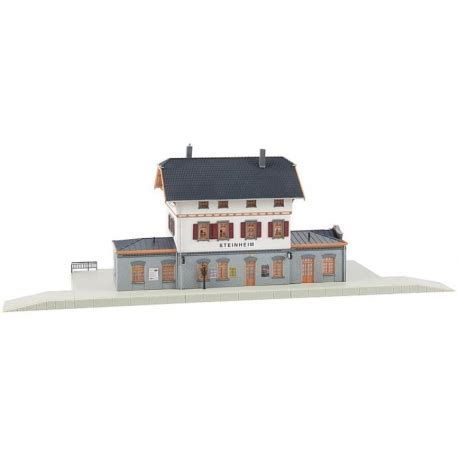 Faller Countrysite Decor Acceessories Miniature Building Ho Scale faller 110112 ho 1 87 steinheim station passion132