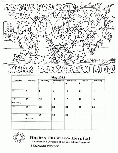coloring pages sun safety sun safety coloring pages coloring home