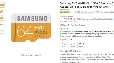 best deals on tablets 2016 black friday deal get samsung evo 64gb microsd card for just 22 40