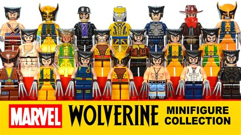 imagenes de lego marvel wolverine every x men wolverine minifigure collection i have lego