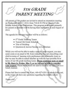 Sle Invitation Letter For Pta Meeting Parent Update May 2 2014 Olmsted Falls Schools Update