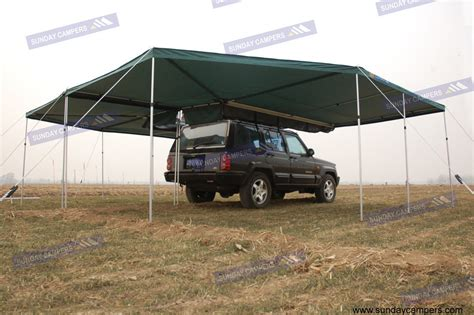 retractable 4wd awnings china 4wd awning with 360 degree mire wings photos