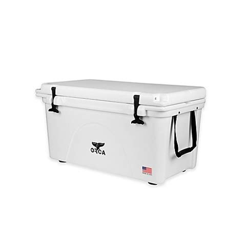 bed bath and beyond cooler buy orca 26 qt ice retention cooler in white from bed