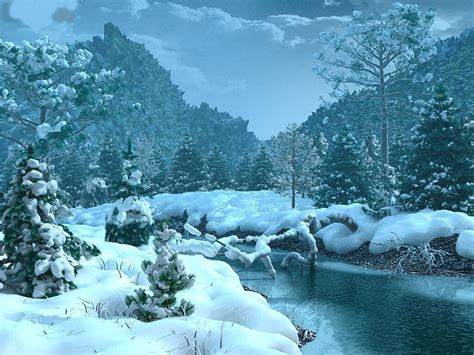 wallpaper desktop nature winter free desktop background wallpapers christmas winter
