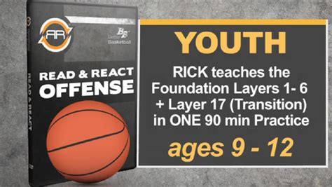 read and react layers diagram 1 youth practice 90 minutes to a working offense by