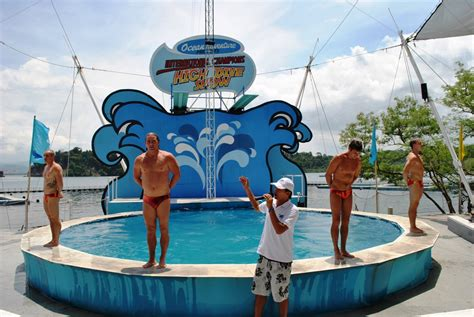 dive show in the sun at subic s adventure park the