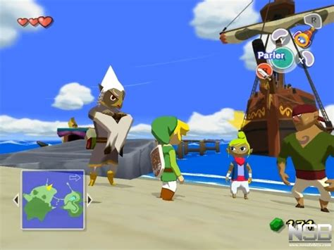 barco pirata zelda wind waker the legend of zelda the wind waker gamecube nosolobits