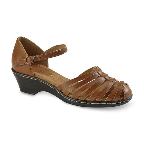 i love my comfort shoes i love comfort women s rita brown mary jane sandal shoes