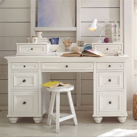 teen desk with hutch chelsea desk hutch pbteen