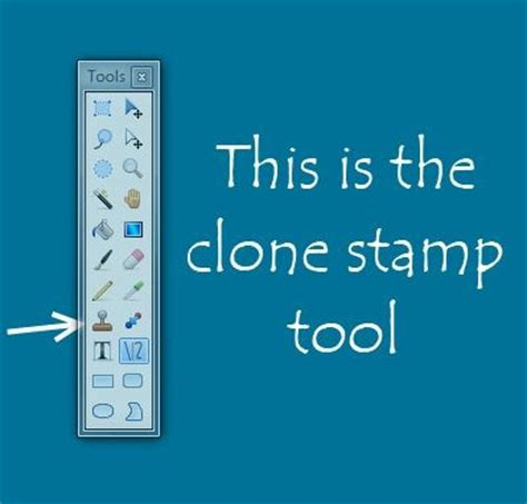 how to use the clone st in paint net