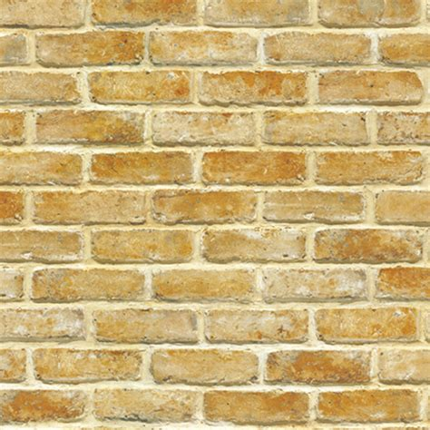Qw Wallpaper Sticker Light Brown Brick light brown brick self adhesive wallpapers wallstickery