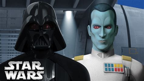 libro star wars thrawn darth vader s relationship to grand admiral thrawn star wars canon vs legends youtube