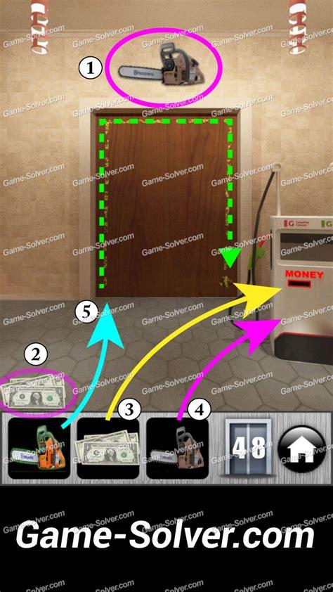 100 Floors Level 48 Solution - 100 doors runaway level 48 solver