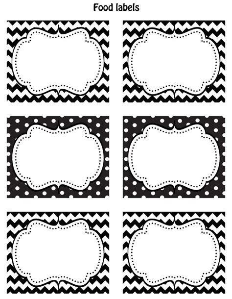 black and white label templates free black white printable labels celebrations at home