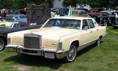 1978 lincoln town car images