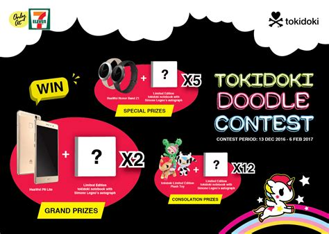 7 Eleven Malaysia Gift Card - 7 eleven tokidoki doodle contest contests events malaysia