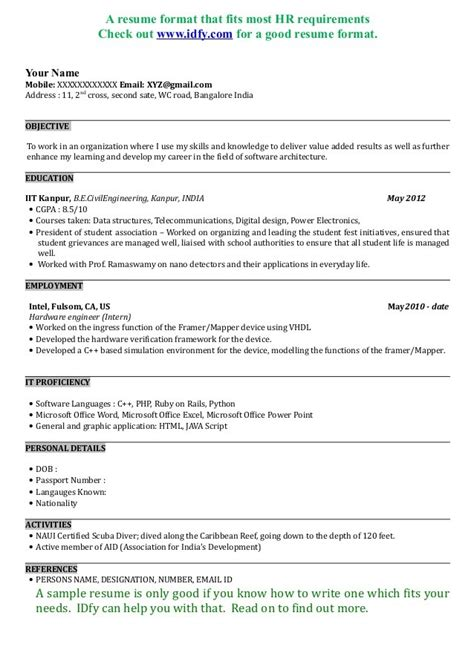 sle resume format for civil engineer fresher sle resume for fresher civil 100 images resume sle