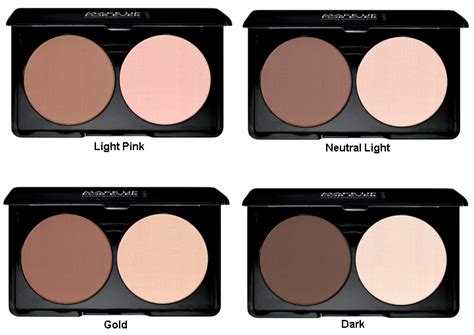Bedak Make Forever make up for sculpting kit contour