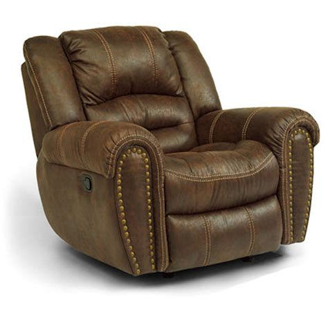Cheap Glider Recliner by Flexsteel 1710 54 Downtown Glider Recliner Discount Furniture At Hickory Park Furniture Galleries