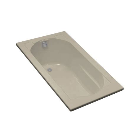 drop in hand kohler devonshire 5 ft right hand drain drop in acrylic