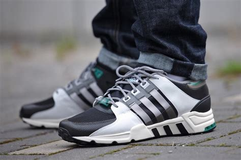 adidas equipment support  core black sneakers