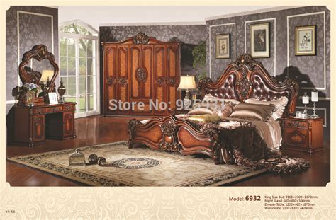luxury king size bedroom sets no 6932 luxury bedrom euro desgine bedroom furniture 5 pcs