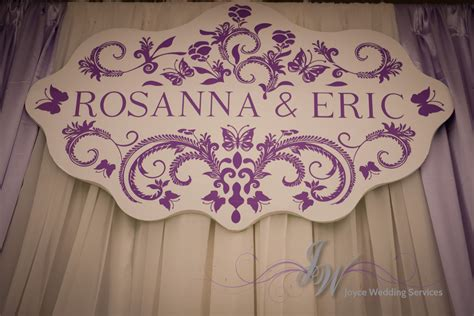Wedding Backdrop With Names by Joyce Wedding Service 187 Rosanna And Eric S Wedding On May