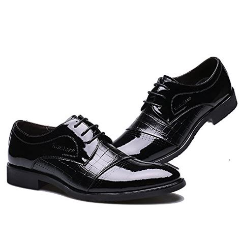 wedding shoes oxford ououvalley lace up patent leather oxford dress shoes