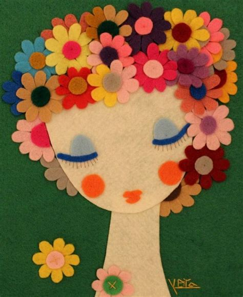 Handmade Felt Flowers - handmade felt flowers www imgkid the image kid has it