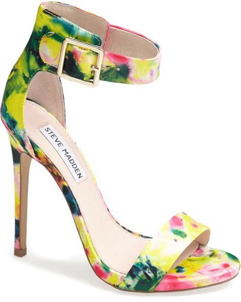 steve madden floral sandals steve madden marlenee floral print sandal in floral lyst