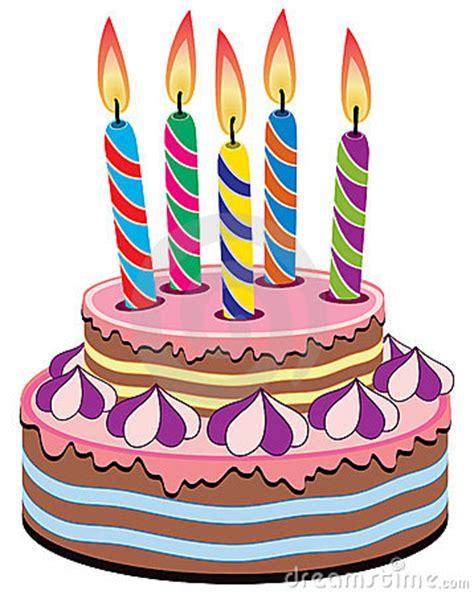 torta con candele torta di compleanno con le candele di compleanno immagine