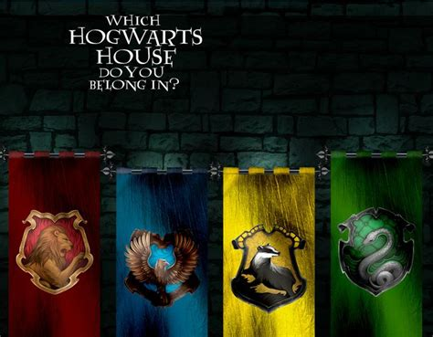 which hogwarts house am i which hogwarts house do you belong in
