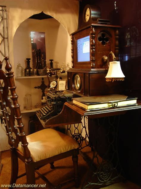 steam punk home decor 28 crazy steunk home office designs digsdigs