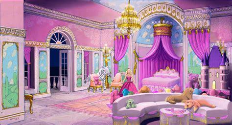 barbie princess bedroom concept art of the princess and the popstar barbie