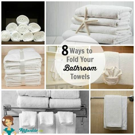 towel folding ideas for bathrooms 17 best ideas about folding bath towels on