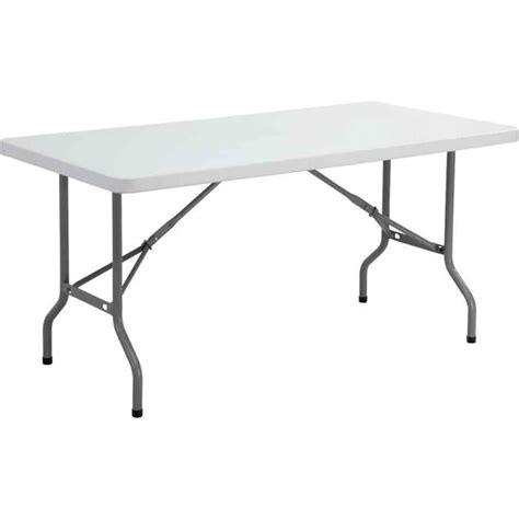 table bureau pliante table pliante ycz 152 en plastique gris clair achat
