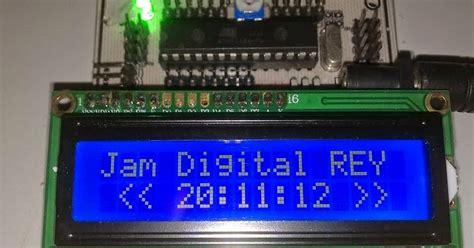membuat jam digital atmega8 membuat jam digital lcd 2 x16 tanpa rtc atmega8 global
