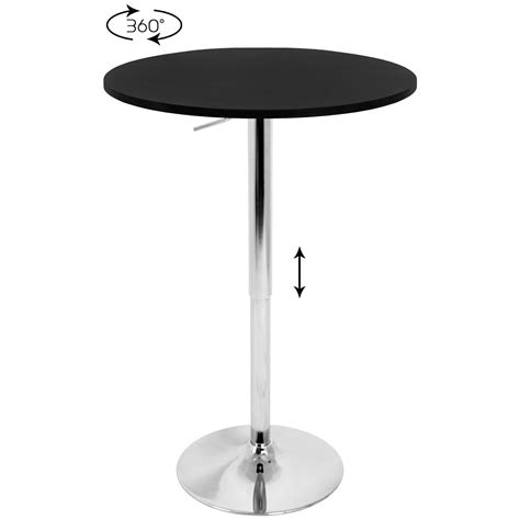 Adjustable Bar Table Lumisource Llc Adjustable Bar Table 224445 Kitchen Dining At Sportsman S Guide