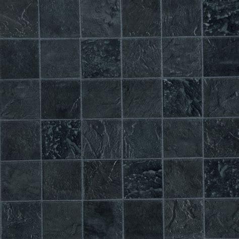 Kitchen On A Budget Ideas by Black Mosaic Textured Vinyl Tiles From Homebase Vinyl