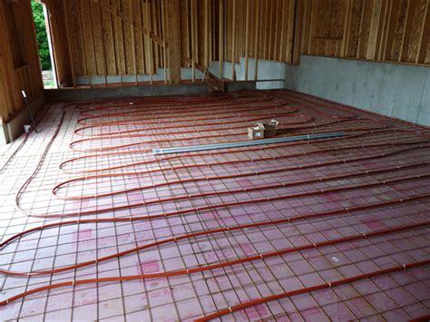 slab  grade installation diy radiant floor