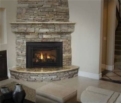 corner fireplace insert interior exterior doors design