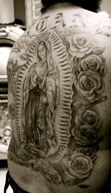 virgin mary back tattoo tattoos page 2
