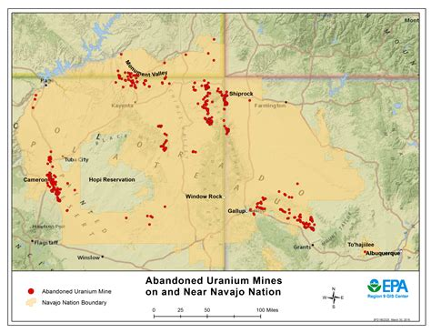 On The Town Nation by Navajo Nation Cleaning Up Abandoned Uranium Mines Us Epa