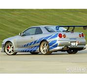 Page 3  Nissan Skyline R34 GT R Cars Of The Fast And