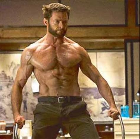 hugh jackman wolverine body the preferred method of managing weight of najmi deblass
